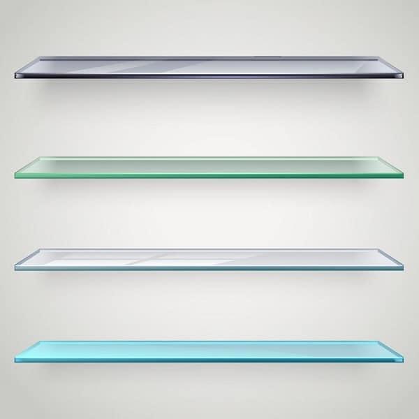 4 glashylder efter mål i forskellige farver - njpglas.dk i Næstved