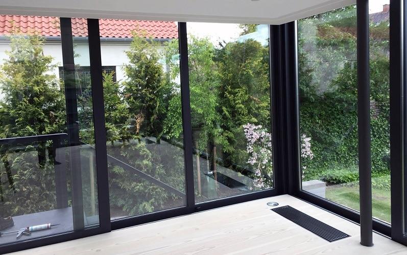 Udestue aluminium og glas. njpglas.dk - Næstved